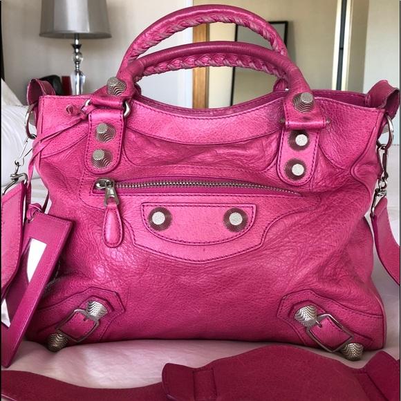 52b3cb2837 Balenciaga Bags | Pink Velo Giant 21 Bag Lightly Worn | Poshmark